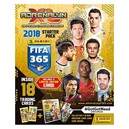fbc5597302944 2018 Panini TOP TEAMS FIFA 365 Adrenalyn Soccer Cards OFFICIAL ...
