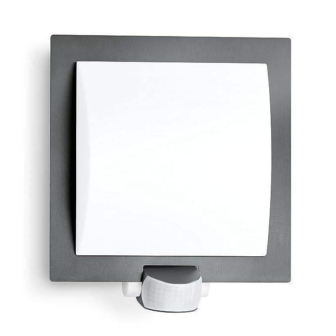 36 opinioni per Lampada per esterni Steinel L 20Antracite–Lampada da parete per esterno con