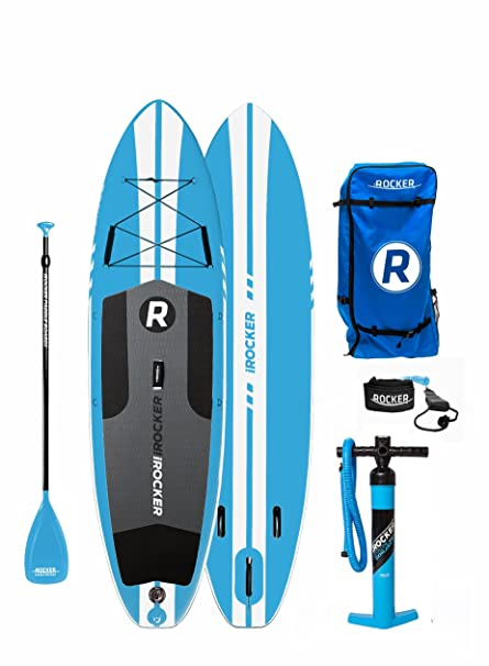 Paquete SUP de tabla de surf de remo hinchable iROCKER ALL ...