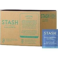 Stash Tea Double Bergamot Earl Grey Tea 100 Count Box of Tea Bags, Full Caffeine Tea, Black Tea with Bergamot, Enjoy Hot…