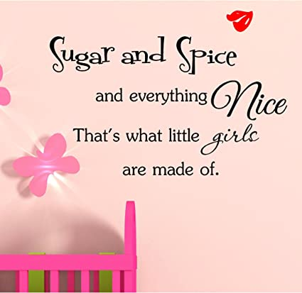 Amazon.com: Sugar and spice and everything nice. That\'s what ...