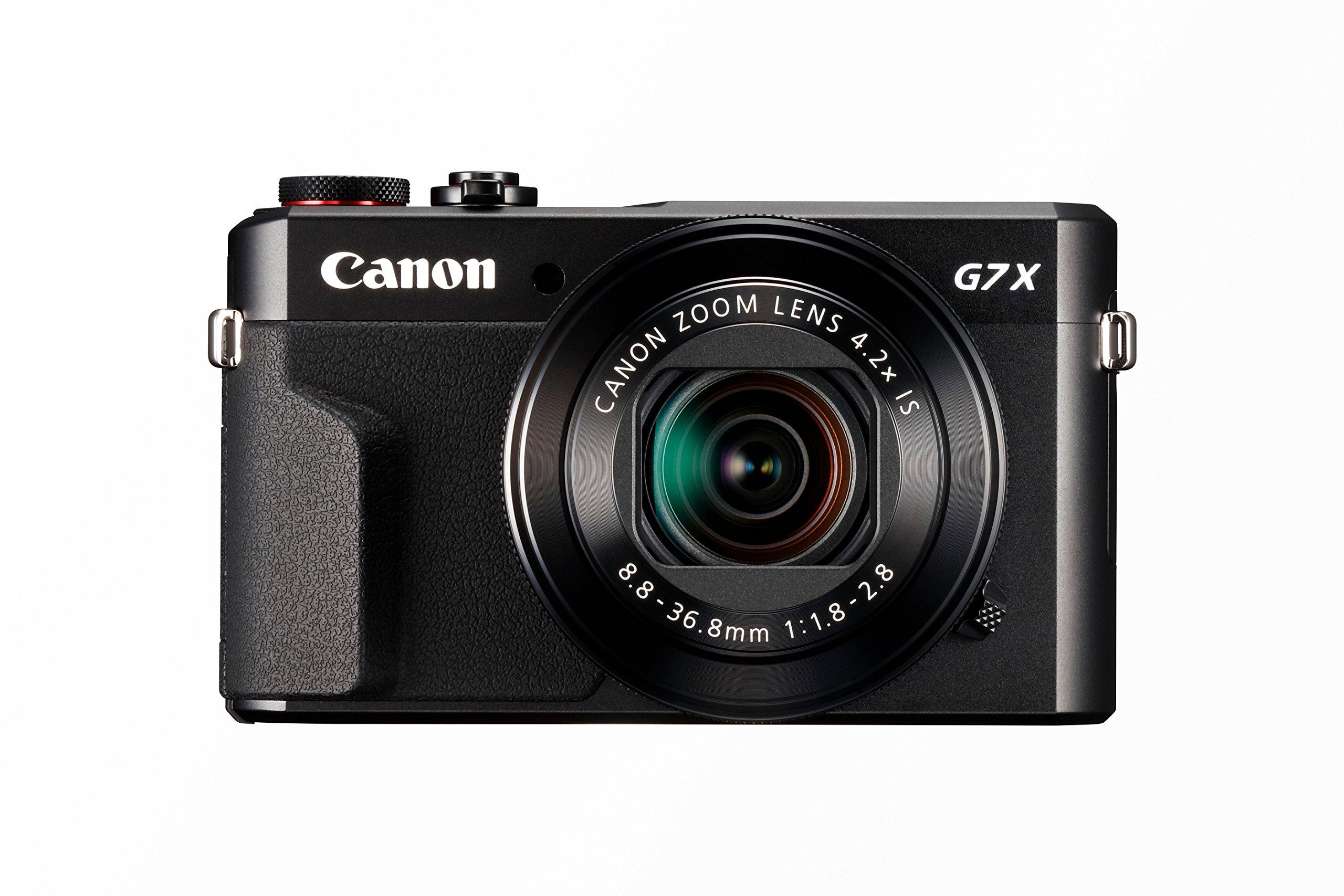 Canon PowerShot G7 X MARK II Fotocamera Compatta Digitale da 20.1 Megapixel, Wi-Fi, Nero/Antracite product image