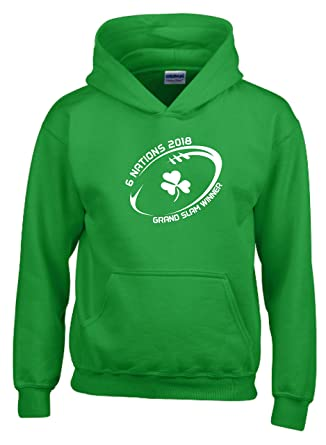 Number Six Ireland Six Nations 2018 WINNERS Kids Rugby T-Shirt