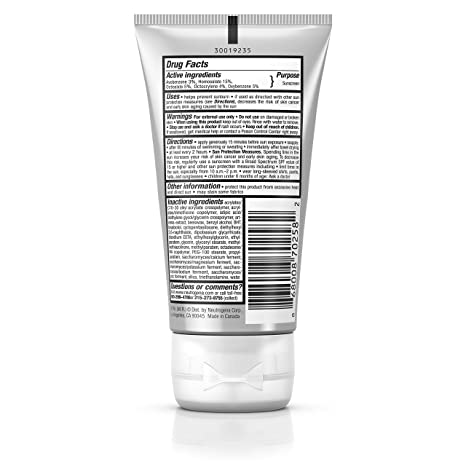Amazon.com: Neutrogena Sport Face Sunscreen Lotion SPF 70+ 2.50 oz (Pack of 5): Beauty