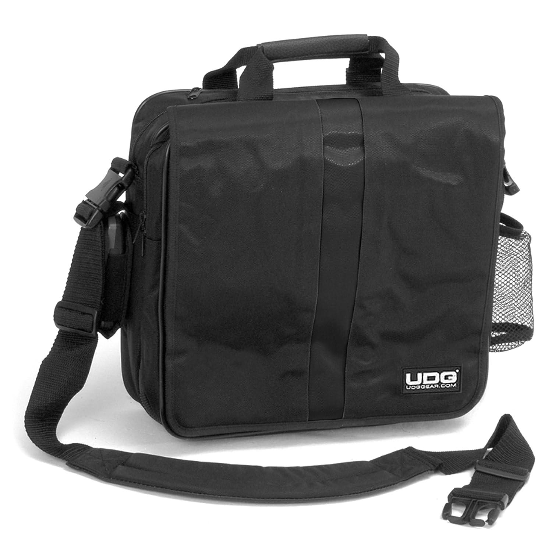 UDG Ultimate CourierBag DeLuxe BlackOrange Inside Borsa porta dischi, Nera interno Arancione U9470BL/OR