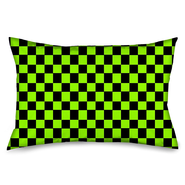 Kess InHouse Alisa Drukman Birds in Garden 2 Orange Abstract Throw Pillow 20 by 20