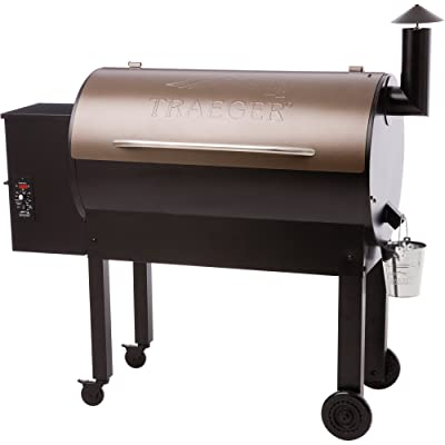 Traeger TFB65LZBC Texas Elite 34 Wood Pellet Grill and Smoker