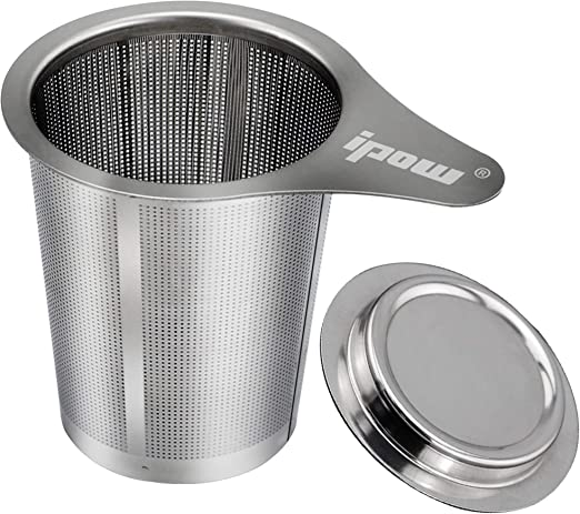 304 Stainless Steel Dual Ear Fine Mesh Filter Tea Infuser Strainer  Home Use
