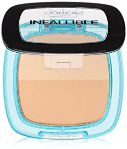 L'Oréal Paris Infallible Pro Glow Pressed Powder, Sand Beige, 0.31 oz.