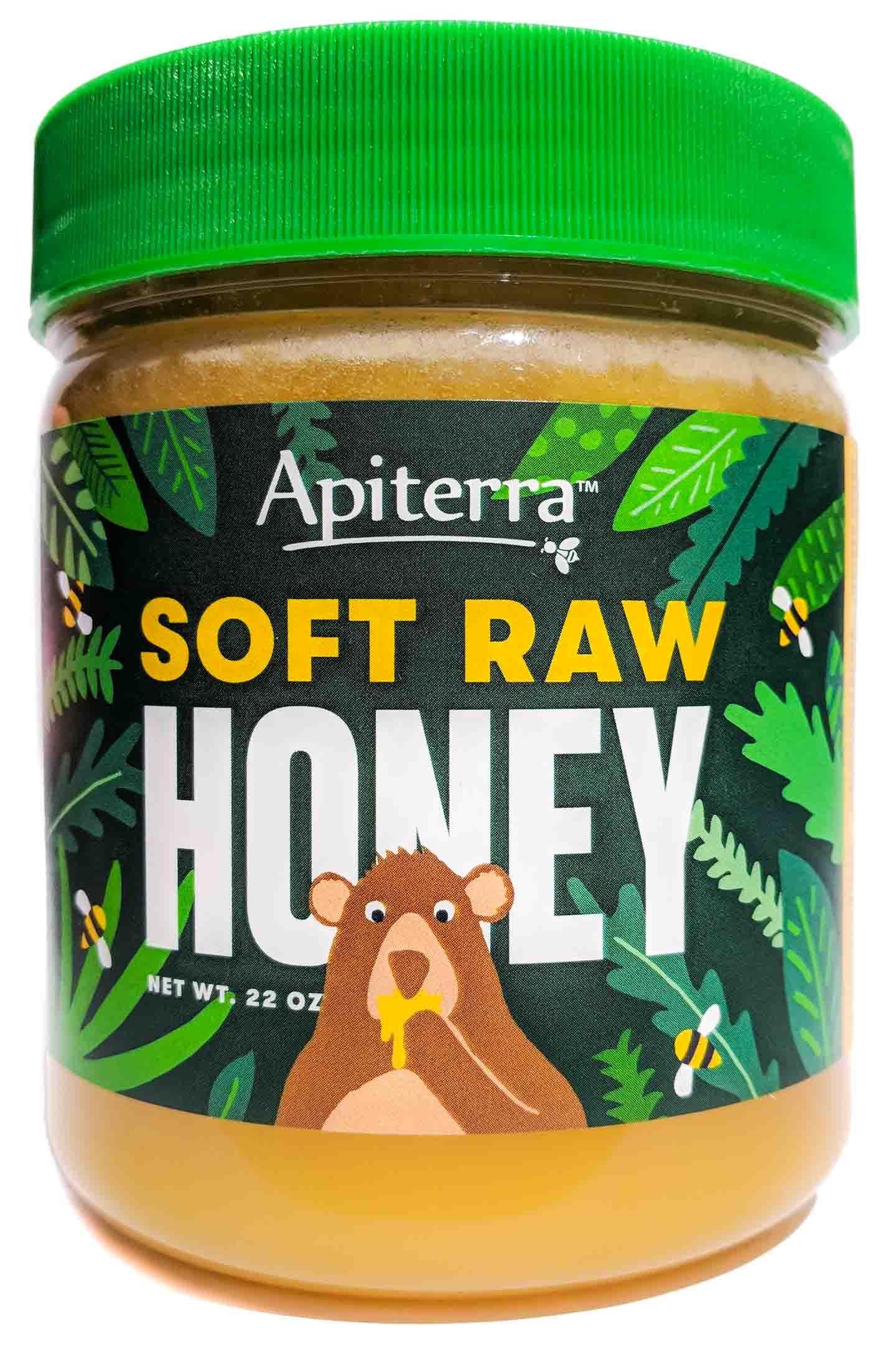 Soft Raw Honey by Apiterra