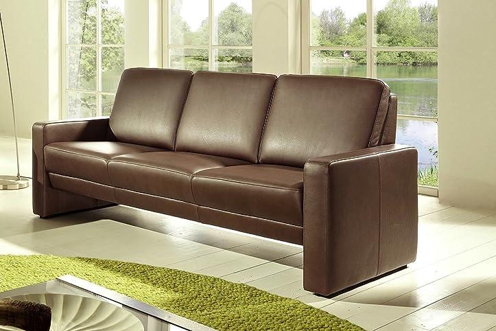 LEDER Sofa Garnitur Couch 3 Sitzer + 2 Sitzer \