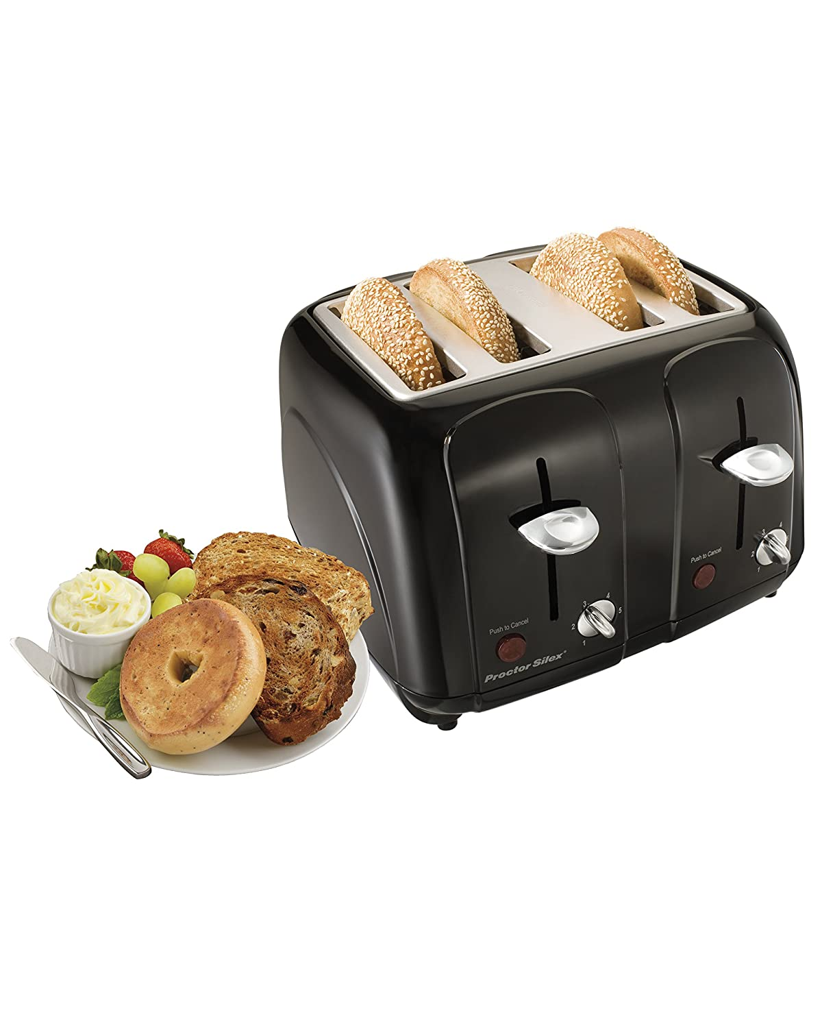 Amazon Proctor Silex Cool Touch 4 Slice Toaster