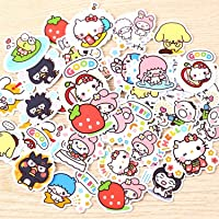 40pcs Creative Kawaii self-Made Love Sanrio Girl Stickers Beautiful Stickers/Decorative Sticker/DIY Craft Photo Albums