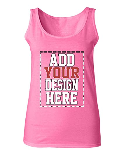 4cdd0ee1f49d1 Amazon.com: Custom Tank Tops for Women - Design Your Own Tank Top ...