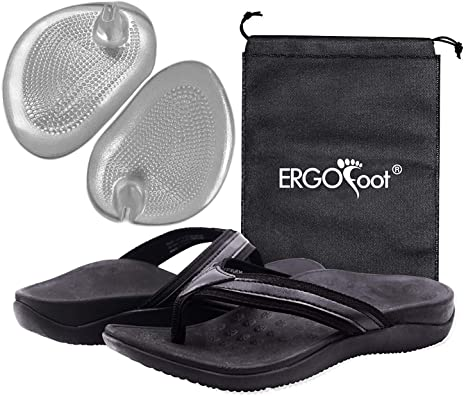 ERGOfoot Flip Flops with Arch Support