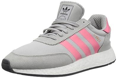 best service a5ac7 9111a adidas Womens I-5923 Originals Grey TwoChalk PinkCore Black Running Shoe