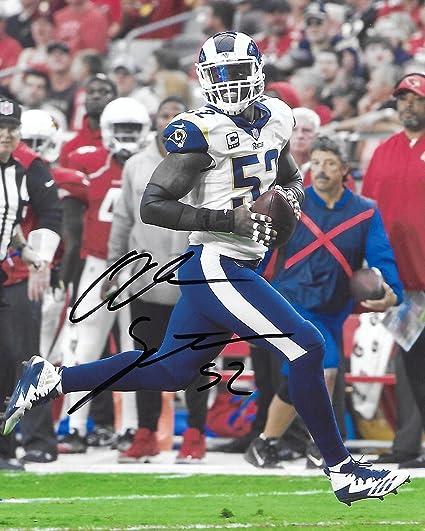 Alec Ogletree, LA Rams, Los Angeles Rams, Signed, Autographed, 8X10  hot sale