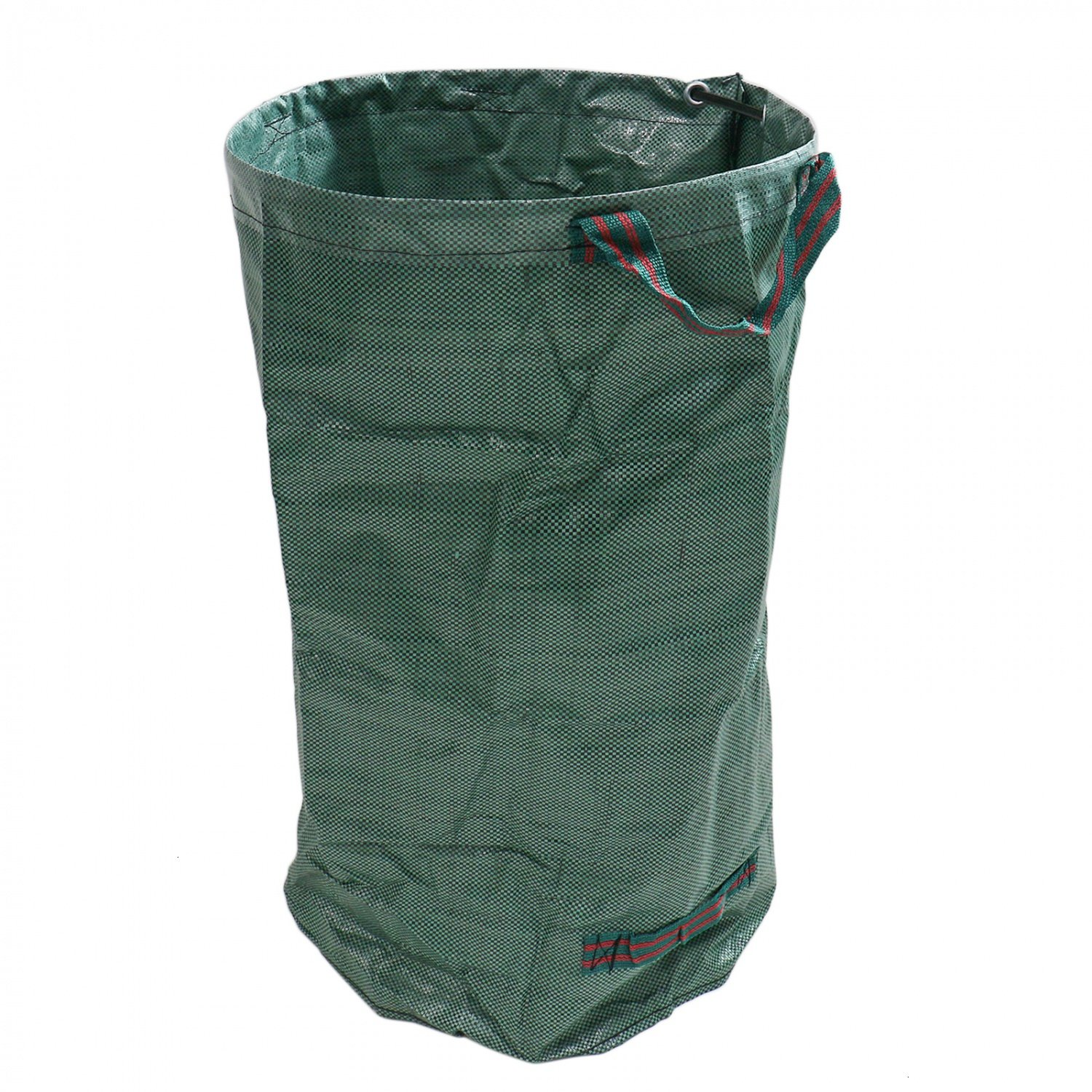 Buorsa 32 Gallons Garden Waste Bags Garden Leaf Waste Bag Heavy Duty Collapsible Basket with Handles