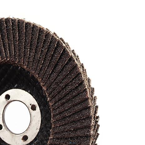10 discos abrasivos de óxido de aluminio de 4 pulgadas para ...