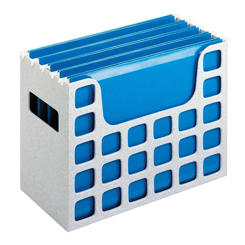 Pendaflex Decoflex Desktop File, 9 1/2 H x 12 1/4 W x 6 D, Granite (23054) Esselte Corporation