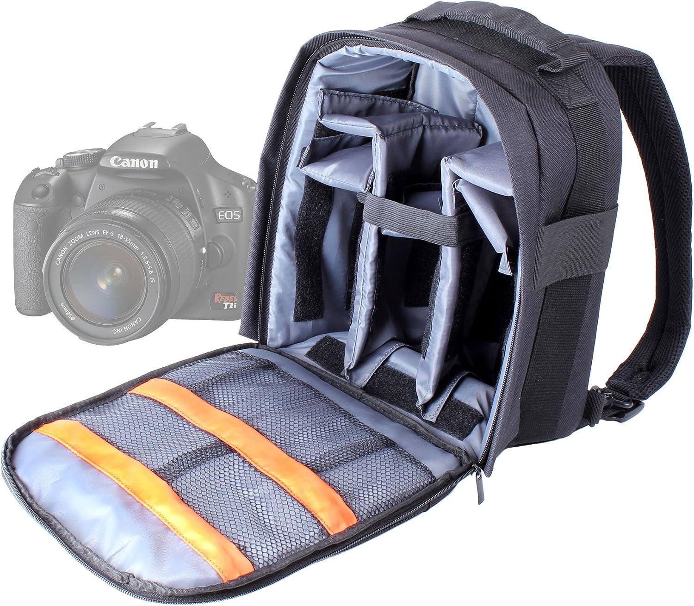 DURAGADGET Mochila Resistente con Compartimentos para Cámara Canon ...