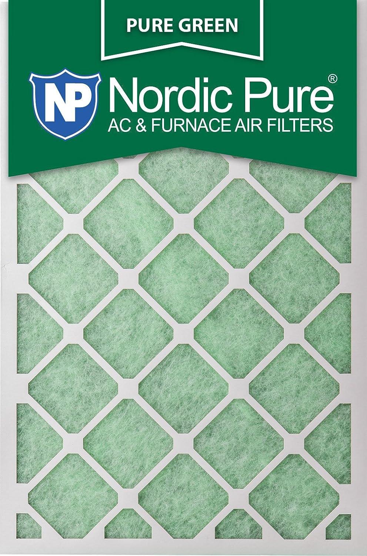 Nordic Pure 20 x 30 x 1puregreen-6 AC炉エアフィルタ、6パック B00K89VOL2