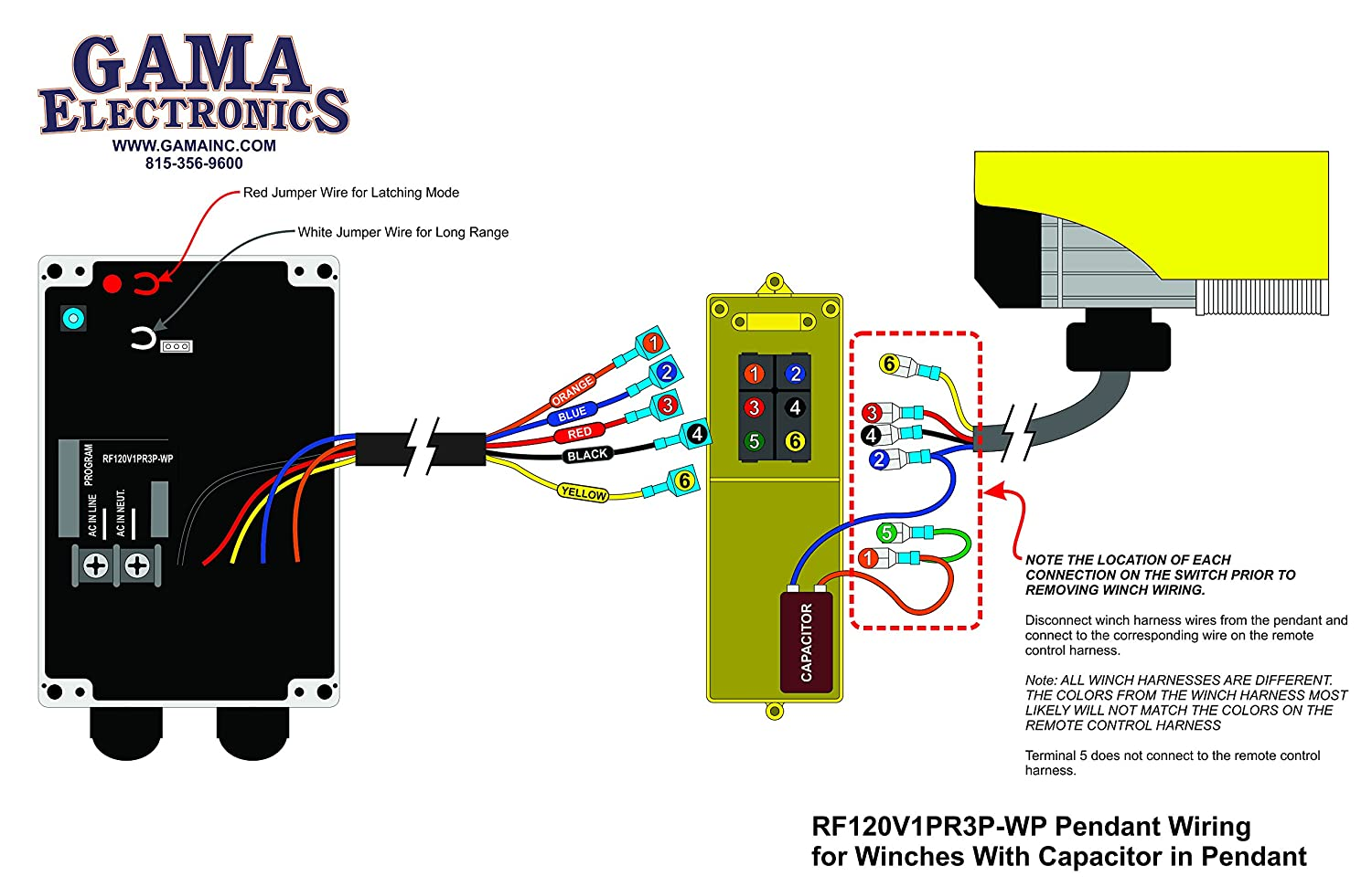 81uZSC%2BSvCL._SL1500_ rf remote control for 120vac pendant controlled hoists and winches pittsburgh electric hoist wiring diagram at edmiracle.co