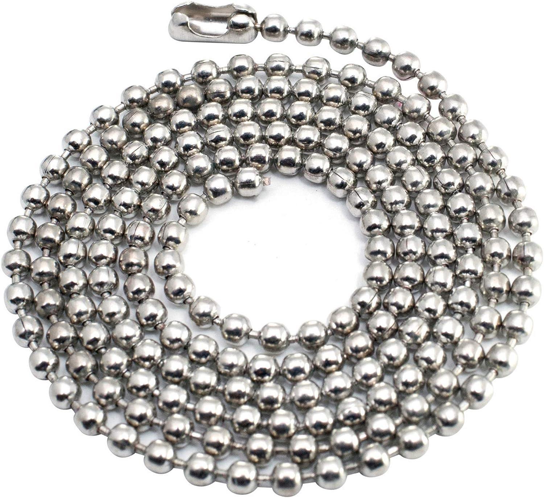 "Pendant Dog Tag Bottlecap 24/"" 24 Inch 20 Antique Bronze Ball Chain Necklaces"