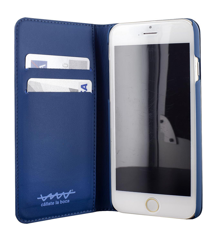 Funda Folio para iPhone 6 Cállate la Boca logo Furgo Función Soporte: Cállate la boca: Amazon.es: Electrónica