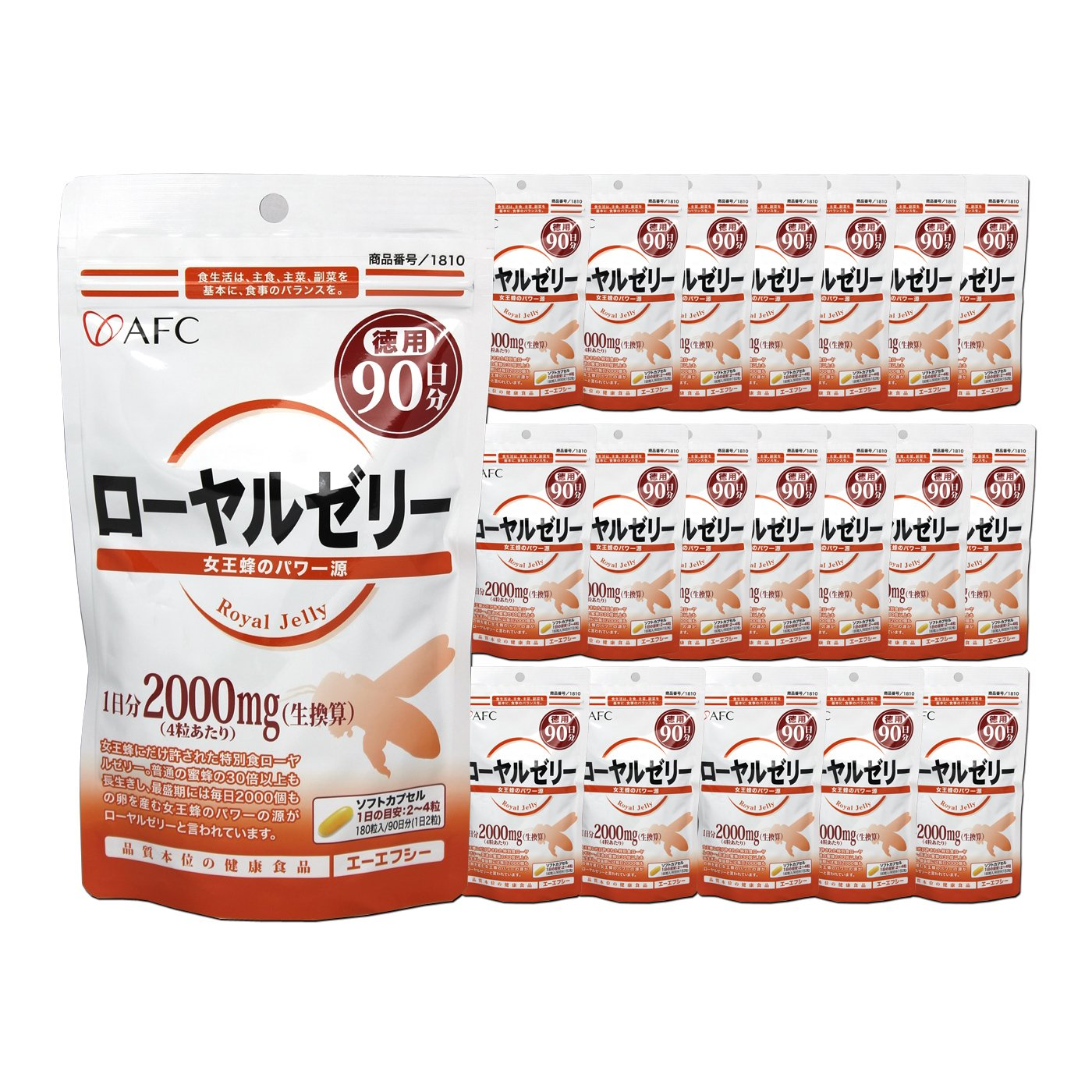AFC Royal Jelly for 5 years (90 days series * 20 sets)