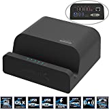 Sabrent USB 3.0 Universal Docking Station with Stand for Tablets and Laptops supports Windows & Mac (DS-RICA)