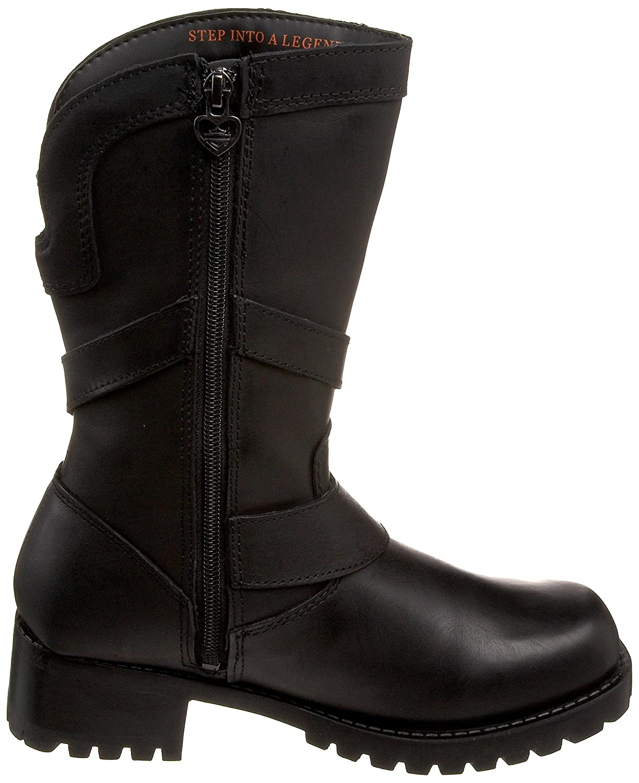 Harley-Davidson Women's Amber Water Resistant Boot B003BIEZUE 7 B(M) US|Black