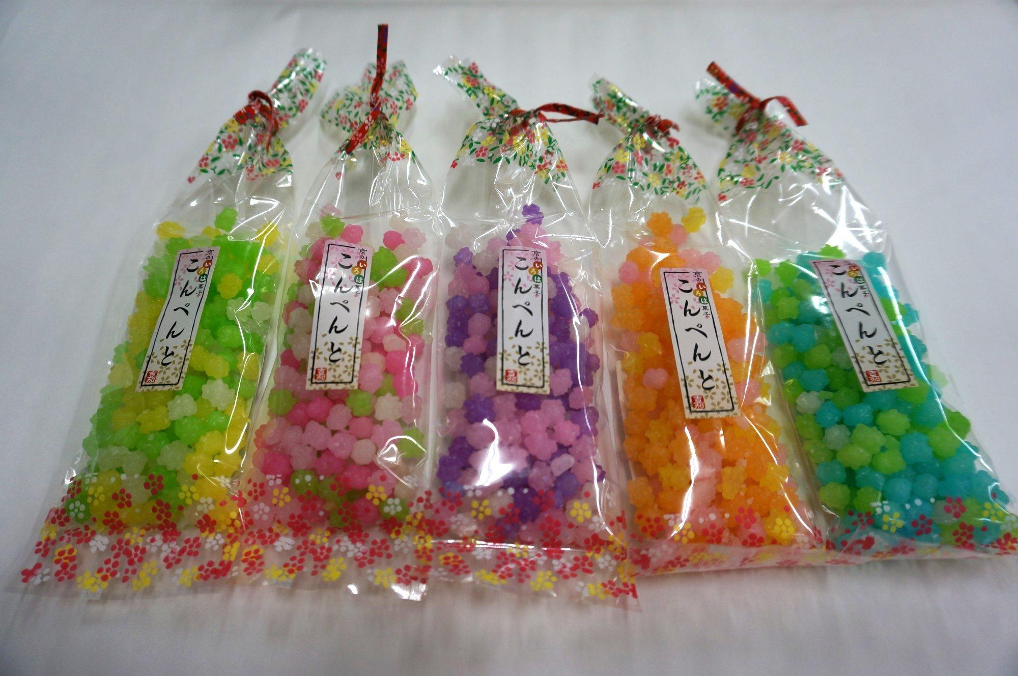 Amazon.com : Konpeito Sugar Candy 2.46 ounce 70 gram ~100 ...