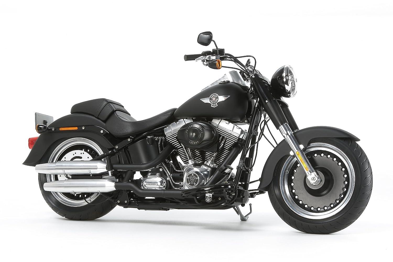 Werbung: Harley-Davidson Fat Boy Lo 1:6 von Tamiya / Bild: Amazon.de