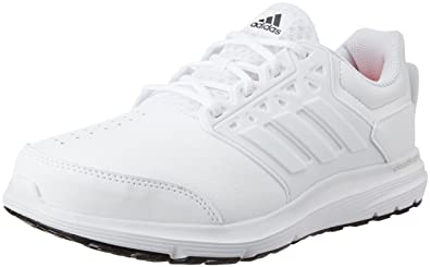 cheaper a2d01 37599 ... sweden adidas mens galaxy 3 trainer ftwwht silvmt and solred multisport  training shoes 10 uk b64d0