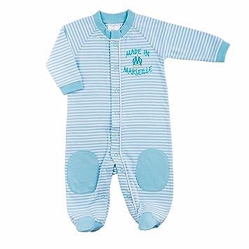 61eb90779df72 OLYMPIQUE DE MARSEILLE Grenouillère Om - Collection Officielle Taille bébé  garçon 24 Mois