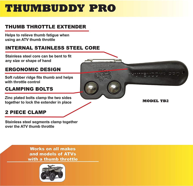 Aftermarket Cruise Kit Thumb Assist Control Throttle Extender ATV 4 Wheeler NEW