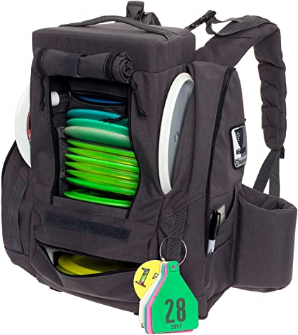 0f4a02698e Amazon.com   BagLane Fusion Pro Disc Golf Backpack w Built-in Seat ...