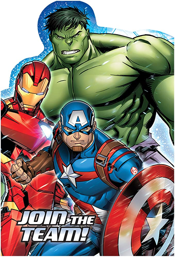 Amazon.com: 8 Marvel Epic Avengers Superhero Fiesta de ...