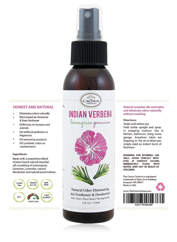 Amazon.com: NATURAL Air Freshener Spray for Home, Room, Bathroom ...