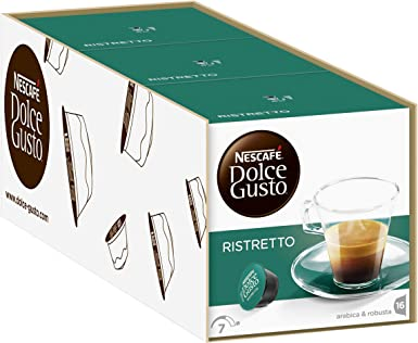 NESCAFÉ Dolce Gusto Café Latte Macchiato, Pack de 3 x 16 Cápsulas ...