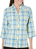 Alfred Dunner Plus Size Plaid Shirt