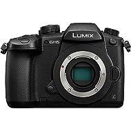 PANASONIC LUMIX GH5 Body 4K Mirrorless Camera, 20.3 Megapixels, Dual I.S. 2.0, 4K 422 10-bit, Full Size HDMI Out, 3 inch Touch LCD, DC-GH5KBODY (USA Black)