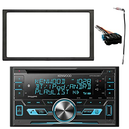 kenwood 2-din bluetooth cd am/fm usb car audio receiver, enrock double