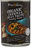 Free and Easy Organic Chick Pea and Bean Tagine 400 g (Pack of 6)
