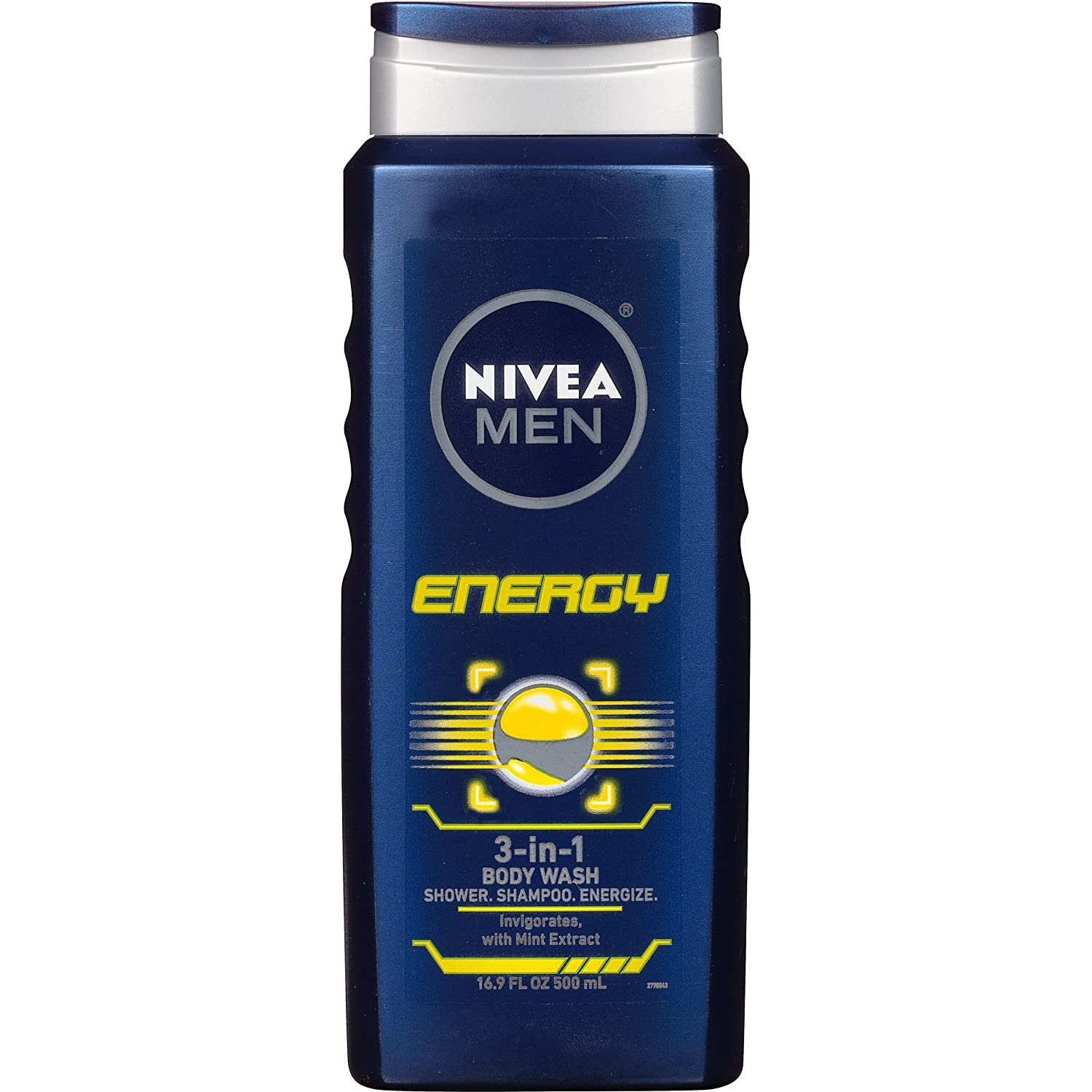 NIVEA Men Maximum Hydration 3 in 1 Body Wash 16.9 Fluid Ounce (Pack of 3) Nivea for Men TRTAZ11A