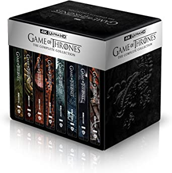 Game Of Thrones Seasons 1 8 4k Uhd Steelbook Blu Ray 2019 Region Free Amazon Co Uk Various Various Various Dvd Blu Ray