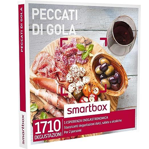 13 opinioni per SMARTBOX- Cofanetto Regalo- PECCATI DI GOLA- Stuzzicanti degustazioni dolci,