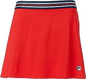 Fila Heritage A Line - Falda China, Color Rojo y Azul Marino ...