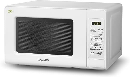 Daewoo KOR-6F0BDUO Microondas, 20 litros, sin Grill, Color Blanco ...